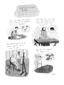 Distractions of the Great. New Yorker Cartoon