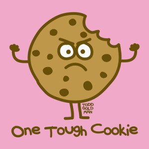 I will beat exhaustion cuz I'm one tough cookie