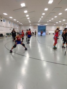 Family Summer Outing First Roller Derby Scrimages